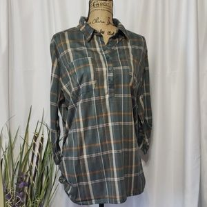 French Laundry Flannel Button Down Shirt